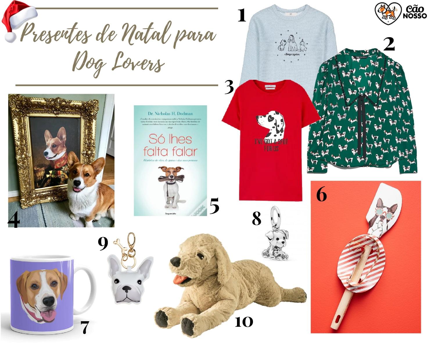 Presentes de Natal para Dog
